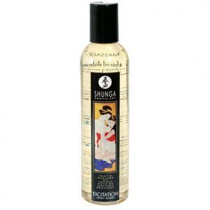 SHUNGA EROTIC MASSAGE OIL EXCITACION